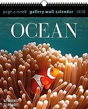 Ocean Page-A-Week Gallery Wall Calendar 2020