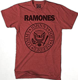 RAMONES R PLAYERA ROTT WEAR