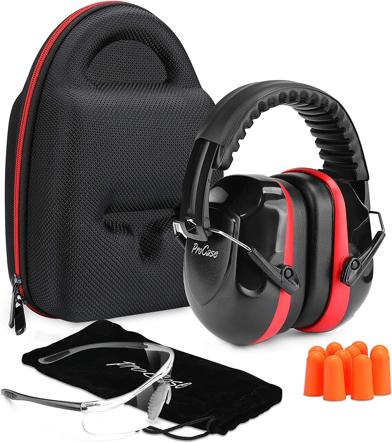 specialty shop ProCase Shooting Ear Surprise price Protection Earmuffs and Glasses Safety Gun