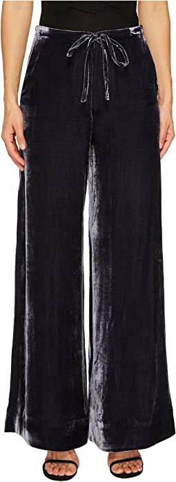 McQ - Long Casual Soft Velvet Pants
