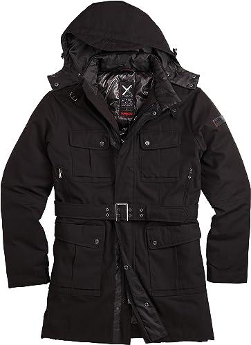 Surplus Xylontum Manteau d'hiver Noir