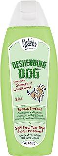 Bobbi Panter Pet Products Deshedding Dog Dog 2 in 1 Shampoo and Conditioner, 10 oz
