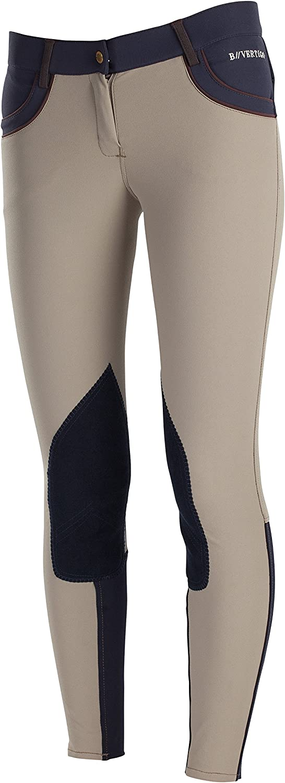B greenigo Melissa Ckp Women's Leather Knee Patch Breech