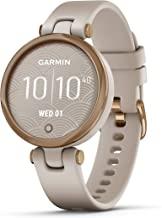 Garmin Lily ، ساعت هوشمند کوچک GPS با صفحه لمسی و لنزهای طرح دار ، گل رز طلایی و برنز