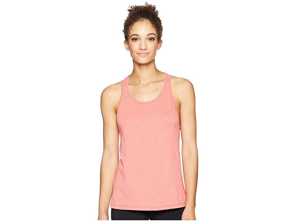 New Balance Heather Tech Tank Top (Flame Heather) Women