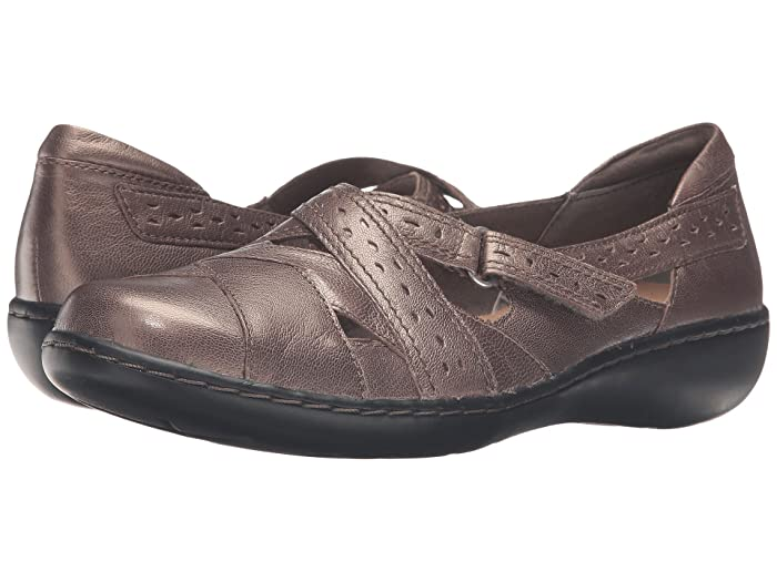 Clarks  Ashland Spin Q (Pewter) Womens  Shoes