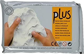 Activa Plus Clay Natural Self-Hardening Clay White 2.2 pounds