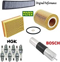 Tune Up KIT Air Filters Spark Plugs for BMW 323i E46 1999-2000
