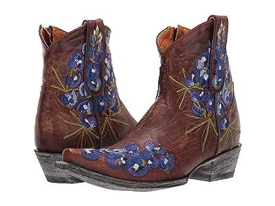 Old Gringo Peggy Sue Short (Brass/Blue) Cowboy Boots