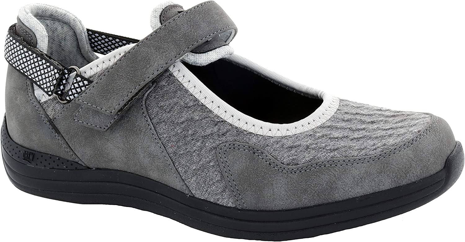 Drew Women's OFFicial Buttercup Grey 2021 autumn and winter new Combo Medium Leather Microtouch Flat