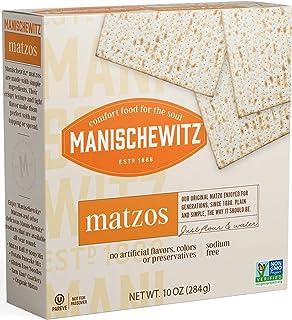 Manischewitz unsalted matzo, 10 oz (Single)