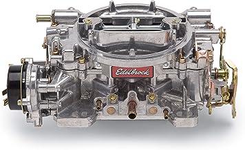 Edelbrock 1406 Performer 600 CFM Square Bore 4-Barrel Air Valve Secondary Electric Choke Carburetor