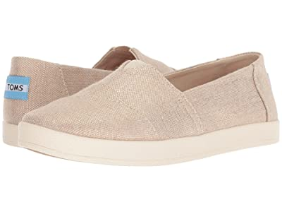 TOMS Avalon (Rose Gold Metallic Woven) Women