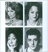 Vintage photo of Mia Farrow, Jodie Foster, Lily Tomlin and John Cusack stars in a 1991 American black-and-white comedy thriller film,