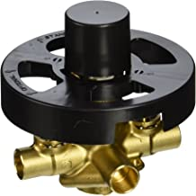 MOEN 2570 M-Pact Rough-In Posi-Temp Pressure Balancing Cycling 4-Port Tub and Shower Valve with Stops, 1/2-Inch CC, 0.5, Multi