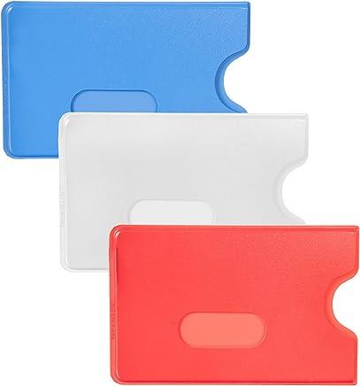 Bankkartenhülle EC Kartenhülle Kreditkartenhülle Schutzhülle rot