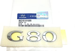 Rear Trunk G80 Letterring Emblem Badge 86310B1500 For 15 16 17 18 Hyundai Genesis