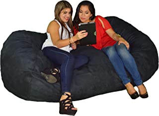 Cozy Sack Bean Bag Chair Filled with 68 lbs of Cozy Foam, Large (8-Feet)