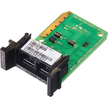 APC PNETR6 1U Cat6 Or Cat5/5E Network Line Surge Protection Module W/ Prm4 Or Prm24 Chassis