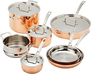 Best 10 piece copper pan set Reviews