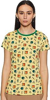 ABOF Women's Regular fit T-Shirt