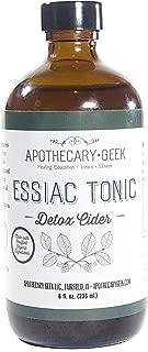 Apothecary Geek Organic Essiac Tonic - Detox Cider (8 oz.)