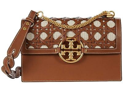 Tory Burch Miller Basket Weave Shoulder Bag