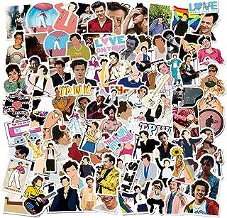 Best Singer Harry Style_s Stickers Merch 100 PCS Vinyl Waterproof Stickers Pack for Teens Laptop Skateboard Review