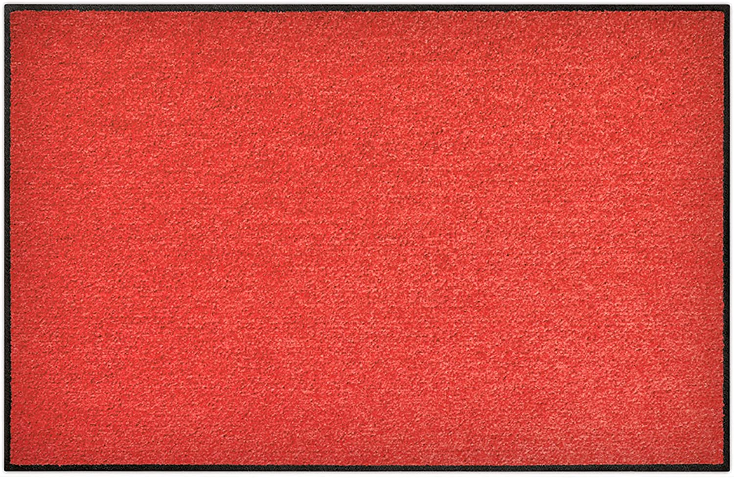 SLU1030-050x075 Doormat   Door mat - Salonloewe - Red ca. 19.7 x 29.5 in by keine Marke