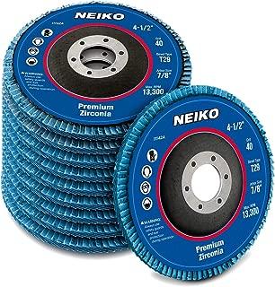 Neiko 11142A Premium Zirconia Flap Disc | 4.5