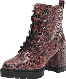 Aerosoles Women's Ankle Boot, Rust Snake, 8.5