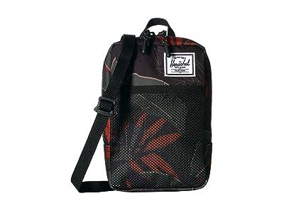 Herschel Supply Co. Sinclair Large (Dark Olive Palm) Cross Body Handbags