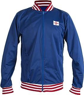 JL Sport England 1966 Retro Football Jacket Classic Vintage Tracksuit Jumper Man Top-Replica