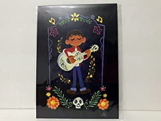 Disney WonderGround Gallery Coco Miguel Rivera Postcard by Gabby Zapata