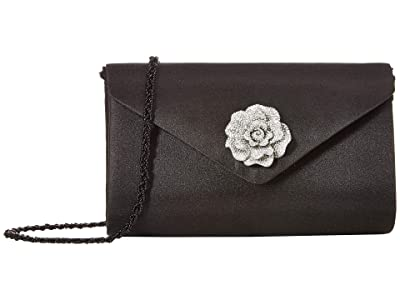 Adrianna Papell Karine (Black/Silver) Clutch Handbags