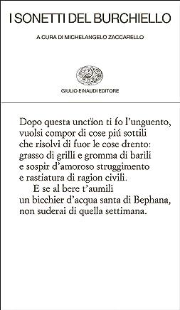 I sonetti del Burchiello (Collezione di poesia Vol. 328)