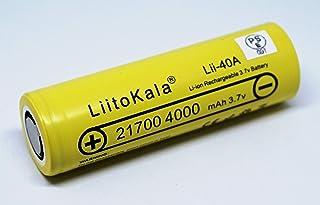 【LiitoKala社】IMR21700 4000mAh 40A
