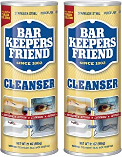 Bar Keepers Friend Powdered Cleanser 21-Ounces (2-Pack)