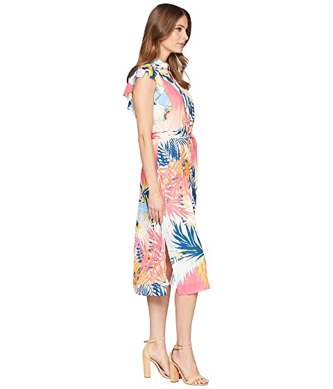 Buy Cheap Excellent Sale Real CATHERINE Catherine Malandrino Fredda Dress Tropical Landscape SgrLE1Ca
