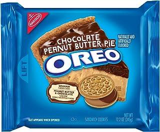 Nabisco Oreo(ナビスコオレオ), Chocolate Peanut Butter Pie 345g [並行輸入品]