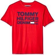 Tommy Hilfiger Men's THD Short Sleeve Logo T Shirt
