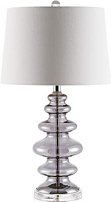 Safavieh TBL4231A Lighting Orien Grey (LED Bulb Included) Table Lamp