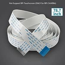 Miuzei Flex Ribbon Cable for Raspberry Pi Camera- 78