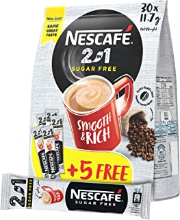 NESCAFE 2in1 Instant Coffee Mix Stick 11.7g (30 Sticks) – Promo Pack