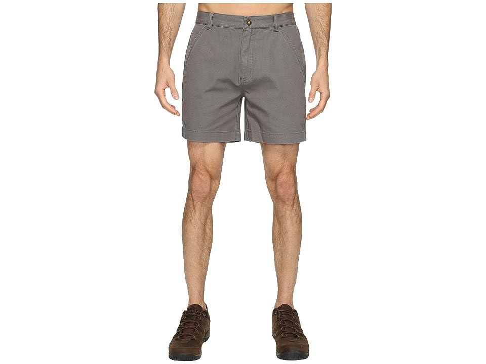Royal Robbins Billy Goat Shorts (Pewter) Men