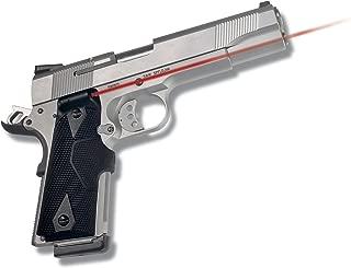 Crimson Trace LG-401 Lasergrips Laser Sight for 1911 Full-Size Pistols, Red or Green Pistol Laser Sight