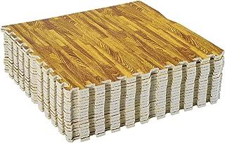 Soozier Interlocking Puzzle Foam Floor Tile Mats