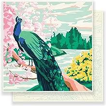 Maggie Holmes Flourish Patterned 12 x 12 Paper Jardin (25 Pack), Piece