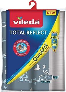 Vileda Total Reflect - Funda de planchar, metálica: refleja