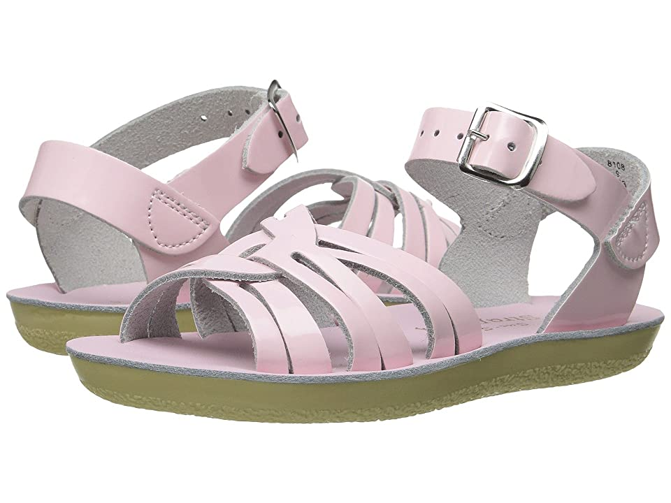 Salt Water Sandal by Hoy Shoes Sun-San Strappy (Toddler/Little Kid) (Shiney Pink 1) Girls Shoes